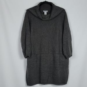 Soft Surroundings one size cowl neck oversized top